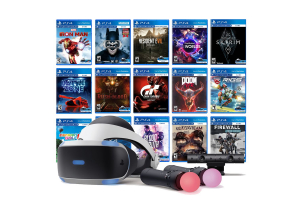 Come On! Immerse Yourself in VR Games on Sony Playstation 4