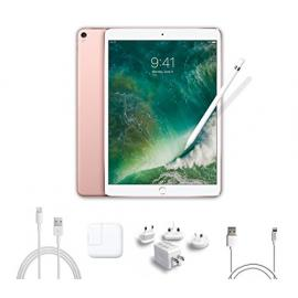 2017 New IPad Pro Bundle (4 Items): Apple 10.5 inch iPad Pro with Wi-Fi 256 GB Rose Gold, Apple Pencil, Mytrix USB Apple Lightning Cable and All-in-One Travel USB Charger