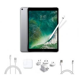 2017 New IPad Pro Bundle (4 Items): Apple 10.5 inch iPad Pro with Wi-Fi 512 GB Space Gray, Apple Pencil, Mytrix USB Apple Lightning Cable and All-in-One Travel USB Charger