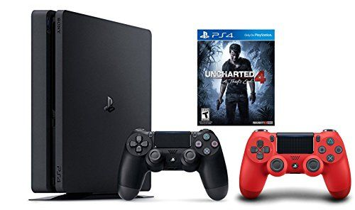 30 Off Playstation 4 Slim Console 2 Items Bundle Ps4 Slim Uncharted