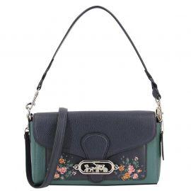 Coach F91024 Jade Shoulder Bag With Rose - Floral Print  Multi NWT