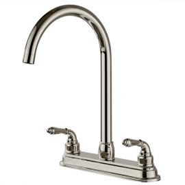 2-handle Kitchen Fixed Faucet