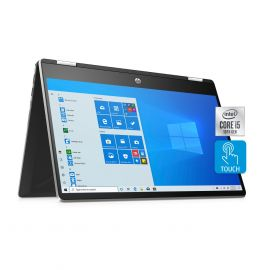 "2020 HP Pavilion x360 2 in 1 Touchscreen Laptop, 14"" IPS FHD PC, 10th Gen Core i5-1035G1, Up To 32GB RAM, 1TB SSD+1TB HDD"