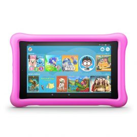 "All-New Fire HD 8 Kids Edition Alexa Tablet, 8"" HD Display, 32 GB, 10 Hours Battery, Pink Kid-Proof Case"