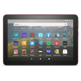 "Amazon All-New Fire HD 8 Tablet 8"" HD Display 32 GB Storage 2 GB RAM 12 Hours Battery Portable For Entertainment Plum"