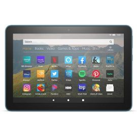 """Amazon All-new Fire HD 8 tablet 8"""" HD display 32 GB Storage 2 GB RAM 12 Hours Battery Portable for Entertainment Twilight Blue"""