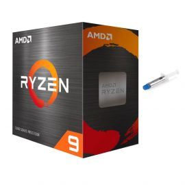 AMD-Ryzen 9 5950X 4th Gen 16-core Desktop Processor Without Cooler, 32-threads Unlocked, 3.4 GHz Up to 4.9 GHz, Socket AM4, Zen 3 Core Architecture, StoreMI Technology w/ Mytrix Thermal Paste