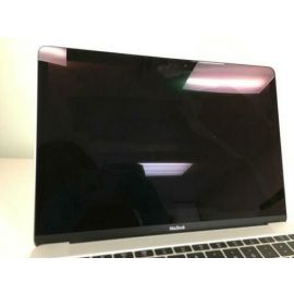Apple MacBook MF855LLA 12-Inch Laptop with Retina Display Silver 256 GB Old Version (Broken Screen Damage)