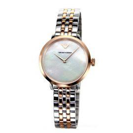 Armani AR11157 Modern Slim Stainless Steel 28mm Women's Watch