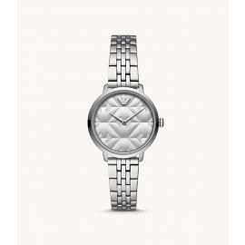 Armani AR11213 Slim Silver Tone Women's Watch 32mm
