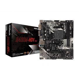 Asrock AMD B450M-HDV R4.0 Micro ATX DDR4 Motherboard (Used)