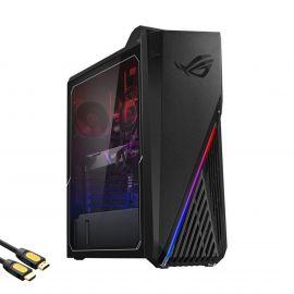 ASUS ROG Strix G15CK Gaming Desktop PC, Intel Core i5-10400F, GeForce GTX 1660 SUPER, 16GB DDR4 RAM, 512GB PCIe SSD, USC-C, VR Ready, RJ-45, HDMI/DP/DVI, Wi-Fi 6, Mytrix HDMI Cable, Win 10
