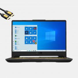 ASUS TUF F15 VR Gaming Laptop, 15.6'' FHD 144Hz Display, Intel 8-Core i7-10870H, GeForce RTX 1660 Ti, 32GB RAM, 512GB PCIe SSD+1TB HDD, USB-C, HDMI, Wi-Fi 6, RJ-45, RGB KB, Mytrix HDMI Cable, Win 10