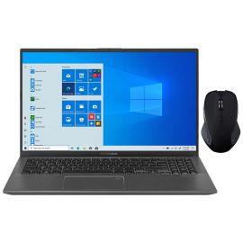 "ASUS VivoBook 15.6"" FHD Touchscreen Laptop, 1080p NanoEdge, Inetl Core i3-1005G1 Dual-Core, 4GB RAM, 256GB SSD+2TB HDD, USB-C, FP Reader, WebCam, Mytrix Wireless Mouse, Win 10 S"