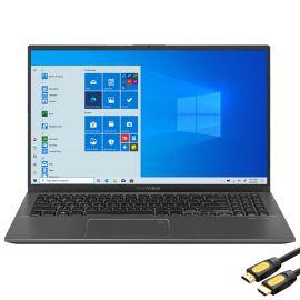 "ASUS VivoBook 15.6"" FHD Touchscreen Laptop, 1080p NanoEdge, Inetl Core i3-1005G1 Dual-Core, 12GB RAM, 256GB SSD+2TB HDD, USB-C, FP Reader, WebCam, Mytrix HDMI Cable, Win 10 S"