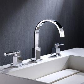 Bathroom basin faucet 2