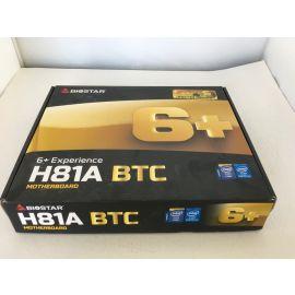 Biostar 212657 Motherboard H81a Core I7/5/3 Lga 1151 H81 Up To 16gb Ddr3 Dvi/vga Usb 3.0/2.0 Atx Retail (Pin Broken)