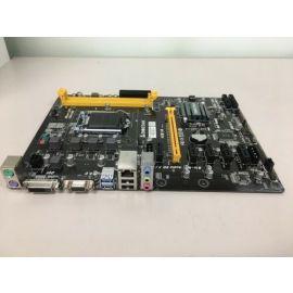 Biostar Motherboard H81a Core I7/5/3 Lga 1151 H81 16gb Ddr3 Dvi/vga Usb 3.0/2.0 ( Broken Won't Turn On )
