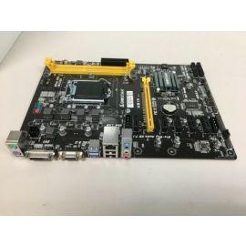 Biostar Motherboard H81a Core I7/5/3 Lga 1151 H81 16gb Ddr3 Dvi/vga Usb 3.0/2.0 (Broken)