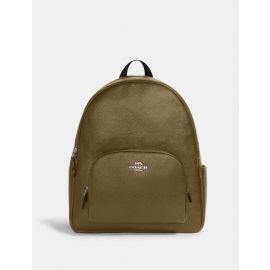 Coach 5669 Large Court Backpack Leather Kelp