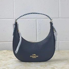 COACH C4108 BAILEY HOBO WITH WHIPSTITCH IN MIDNIGHT/WATERFALL MULTI