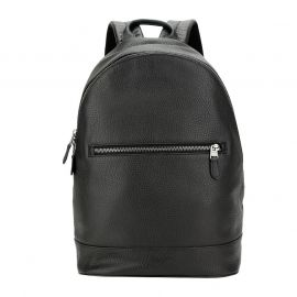 COACH F72510 WEST SLIM BACKPACK BLACK/BLACK ANTIQUE NICKEL