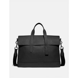 COACH F75757 HAMILTON PORTFOLIO BRIEF CASE IN BLACK