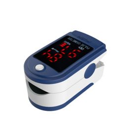 Contec CMS50DL Fingertip Pulse Oximeter, Blood Oxygen Saturation Monitor (SpO2) with Pulse Rate Measurements and Bar Graph, Digital LED Display, Blue (Used Like New)