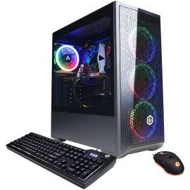 CyberpowerPC Gamer Xtreme VR Gaming PC, Intel Core i5-10400F Six-Core up to 4.30 GHz, NVIDIA GeForce GTX 1660 Super 6GB GDDR6, 64GB RAM, 500GB SSD, WiFi, Ethernet, RGB Fan, Win 10