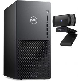 Dell XPS 8940 Desktop PC, 10th Gen Intel Core i5-10400, GeForce GTX 1660 Super 6GB, 16GB RAM, 1TB PCIe SSD+1TB HDD, USB-C, RJ-45, HDMI/DP/DVI, Mytrix Webcam, Win10 w/keyboard and mouse