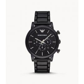 Emporio Armani AR1895 Men's Chronograph Black Stainless Steel Watch