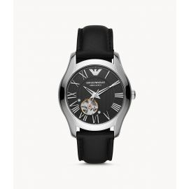 Emporio Armani AR60016  Automatic Black Leather Men's Watch
