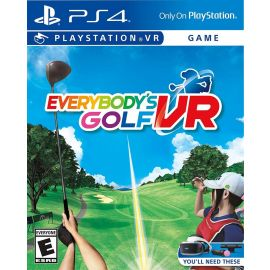 Everybody's Golf VR - PlayStation 4 Full Game Download Digital Code Key Card (Used Like New)