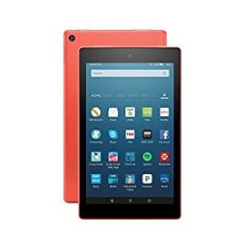 "Fire HD 8 Tablet with Alexa, 8"" HD Display, 32 GB, Tangerine - with Special Offers (Previous Generation - 6th)"