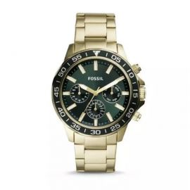 Fossil BQ2493 Bannon Multifunction Gold Tone Stainless Steel Watch