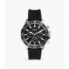 Fossil BQ2494 Bannon Multifunction Black Silicone Watch