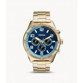 Fossil BQ2531 Brox Multifunction Gold-Tone Stainless Steel Watch