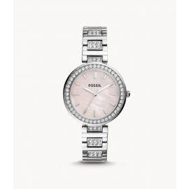 Fossil BQ3182 Karli Three-Hand Stainless Steel Women's Watch