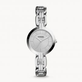 Fossil BQ3205 Kerrigan Three-Hand Stainless Steel Watch