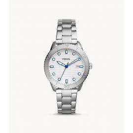 Fossil BQ3595 Dayle Three-Hand Date Stainless Steel Watch