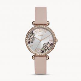 Fossil BQ3604 Tillie Three-Hand Blush Leather Watch