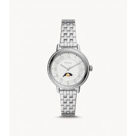 Fossil BQ3707 Reid Multifunction Silver Stainless Steel Women's Watch