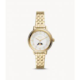 Fossil BQ3709 Reid Multifunction Gold-Tone Stainless Steel Women's Watch