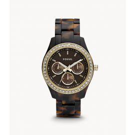 Fossil ES2795 Stella Multifunction Tortoise Resin Women's Watch