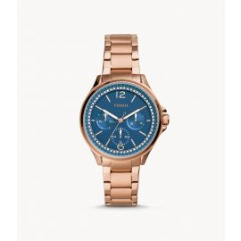 Fossil ES4928 Sadie Multifunction Rose Gold-Tone Stainless Steel Watch