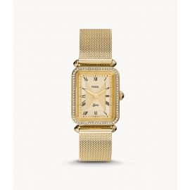 Fossil ES4972 Lyric Three-Hand Gold-Tone Stainless Steel Women's Watch