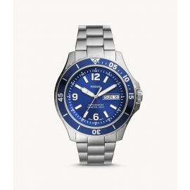 Fossil FS5691 Three-Hand Date Stainless Steel Men's Watch
