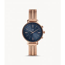 Fossil FTW5061 Hybrid Smartwatch Cameron Rose Gold-Tone Stainless Steel