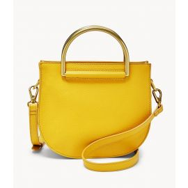 Fossil SHB2092717 Nikki Small Crossbody Golden Yellow