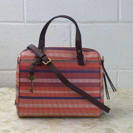 Fossil ZB7314842 Rachel Satchel Bag In Vintage Orange
